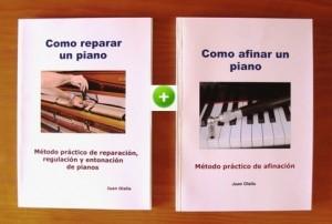 Libros digitales de afinar y reparar pianos