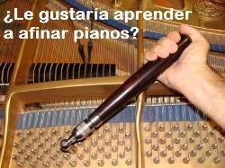 Aprenda a afinar pianos