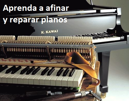 Hágase técnico de pianos