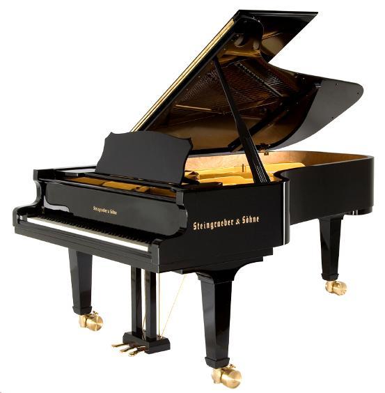 Piano Steingraeber & Sohne gran cola