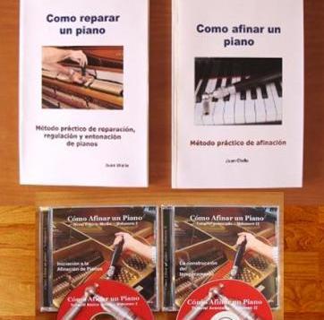 curso de afinación de pianos