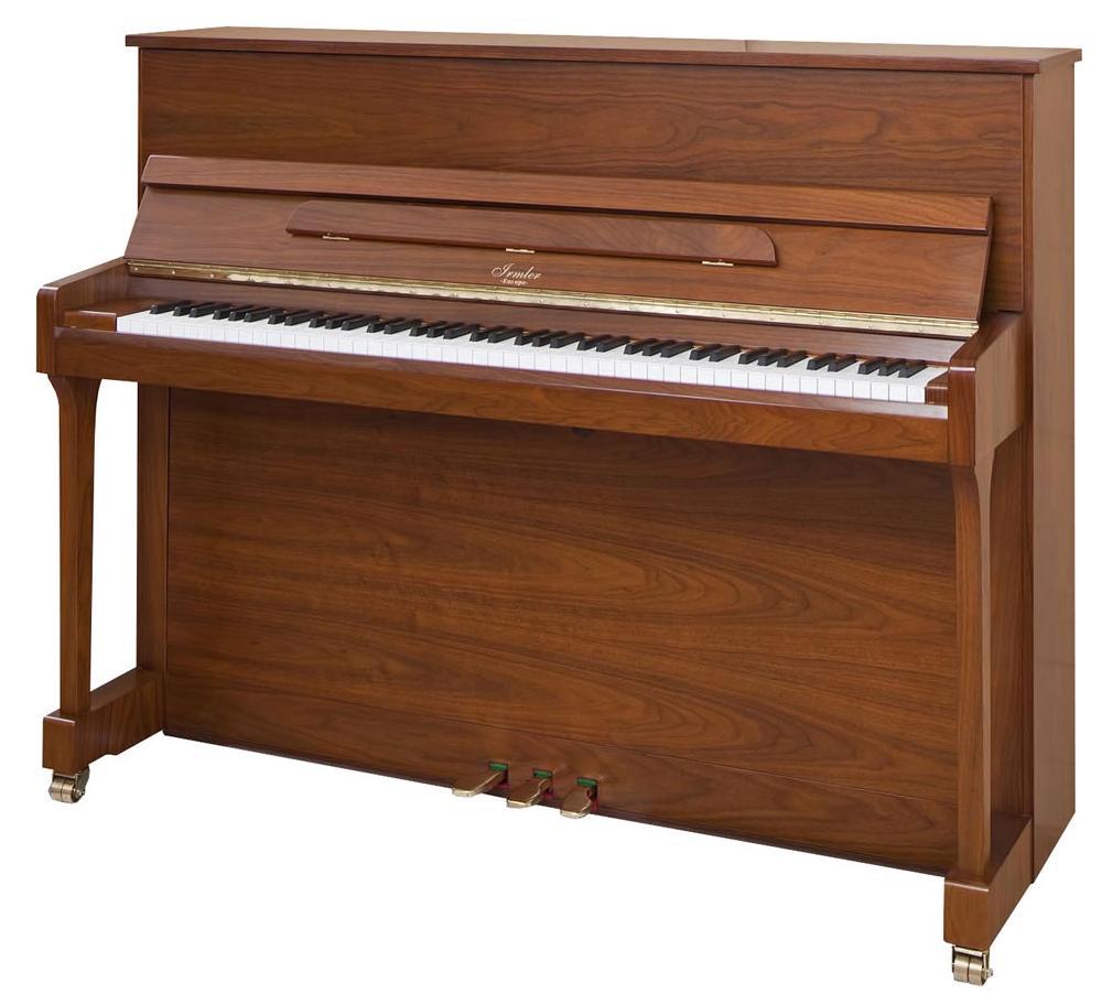 Comprar un piano. Guía de marcas y precios. Piano Irmler de pared