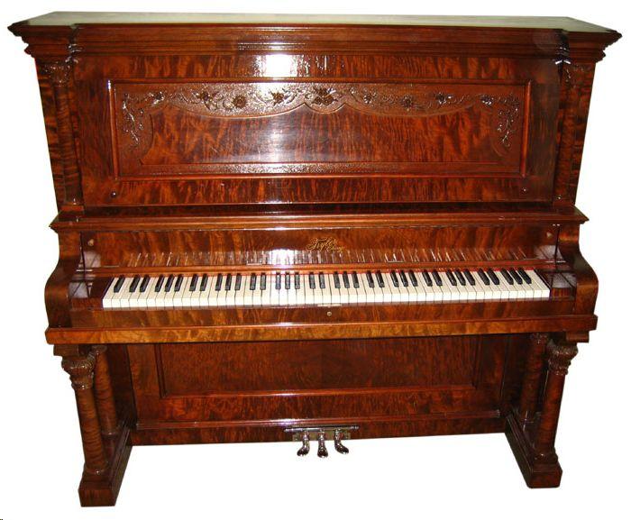Informe tasación para saber cuanto vale un piano antiguo