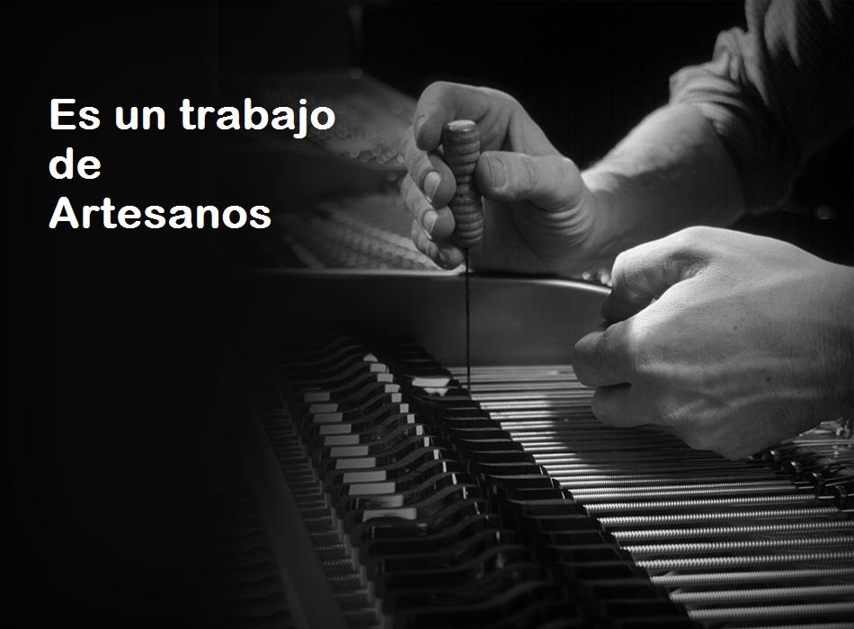 Reglaje y ajuste del piano