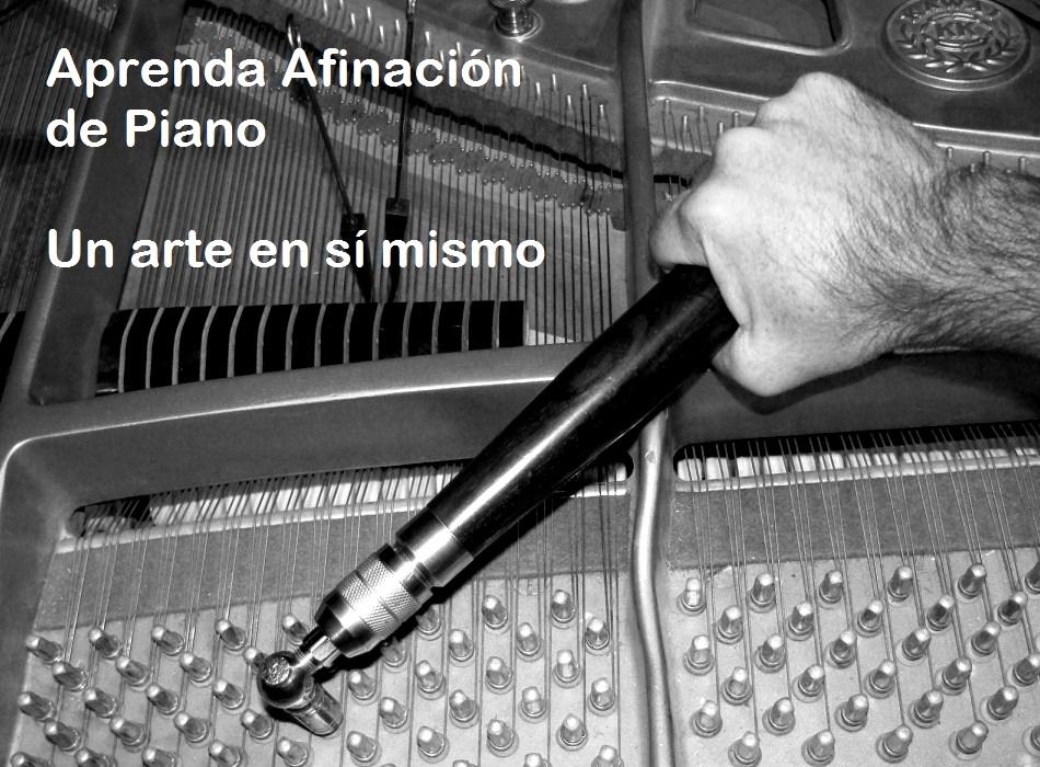 afinando el piano