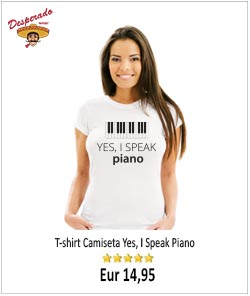 Yes, I speak piano