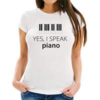 Yes, I speak piano