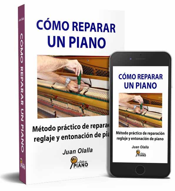 Libro para reparar pianos