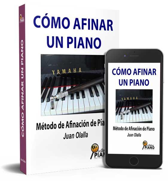 libro de afinación de piano
