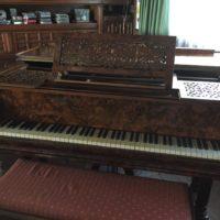MAGNIFICO GRAN PIANO DE COLA marca ÉRARD Mod.1 (212cm) 1901